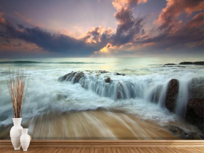 Фотообои призрачный водопад