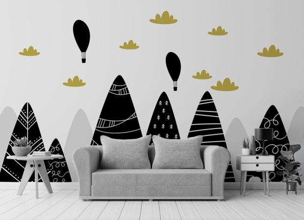 Черные горы и воздушные шары