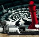 черно красные шахматы