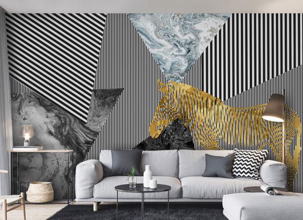 Золотая зебра