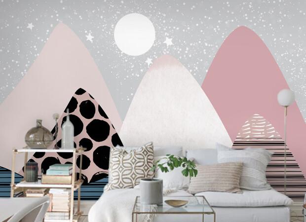 Холмы и луна