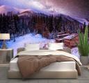 Фотообои снежная ночь