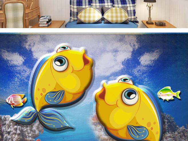 Две желтые рыбки