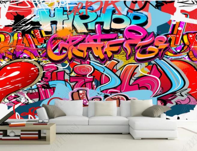 Фотообои граффити3