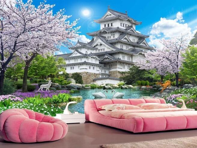 Фотообои Замок в китайском стиле