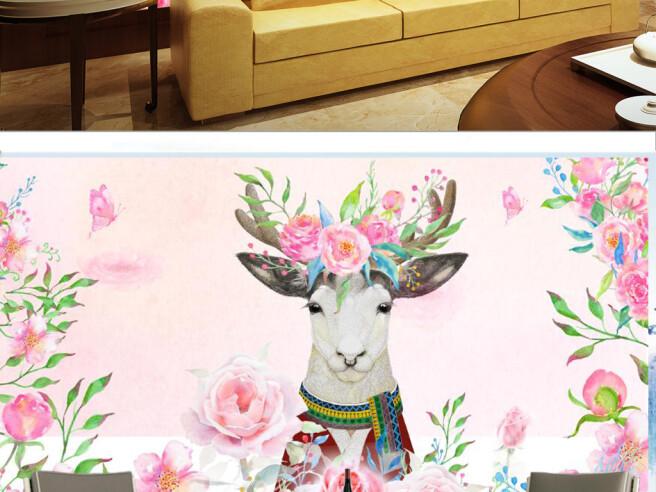 Фотообои Нарядный олень